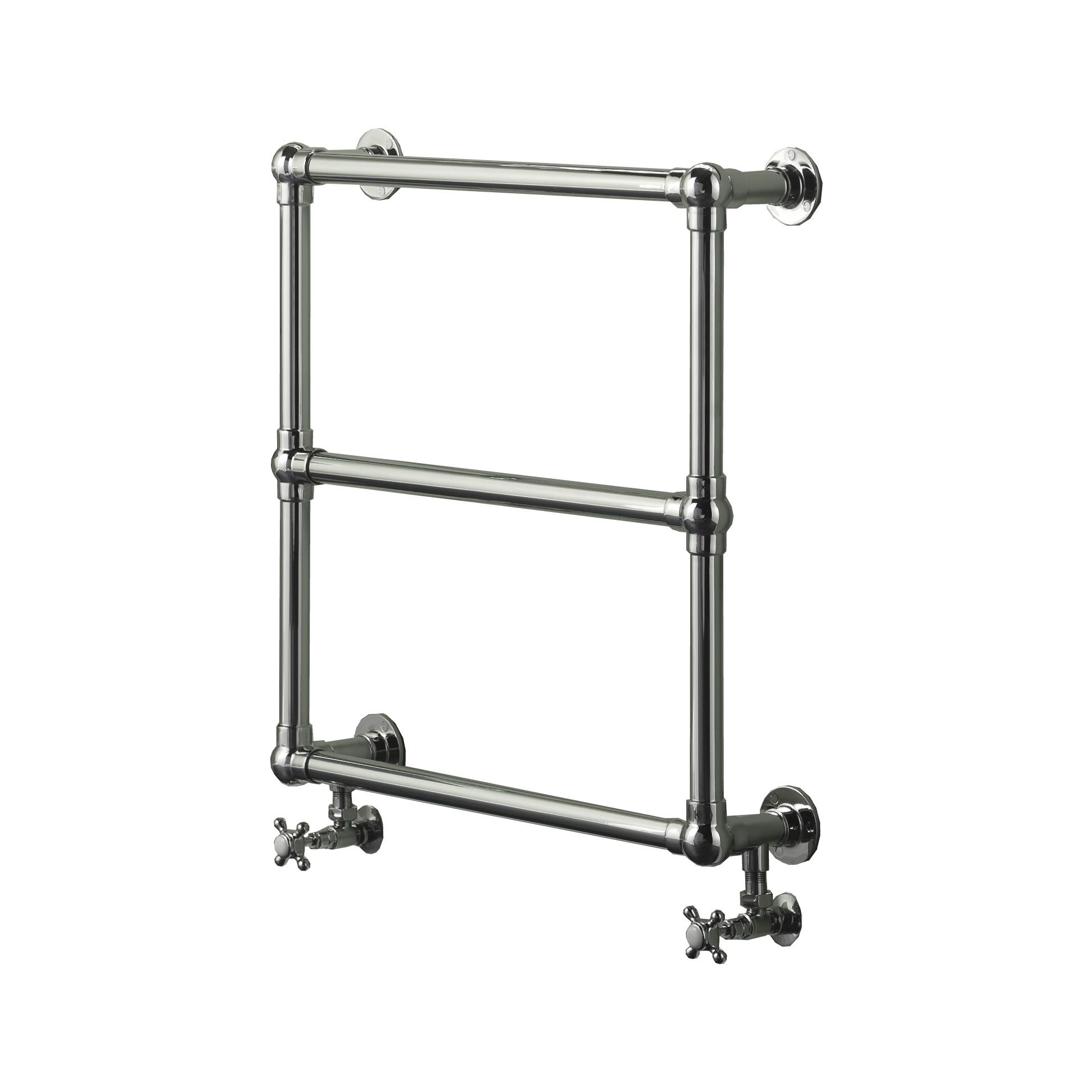 Empress Hydronic Heated Towel Warmer - Chrome Finish