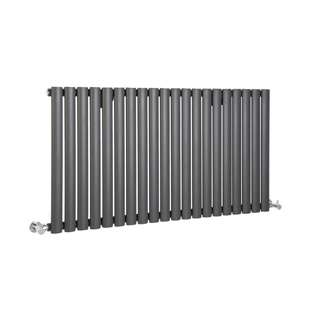 "Revive - Luxury Anthracite Horizontal Designer Radiator 25"" x 46.25"""