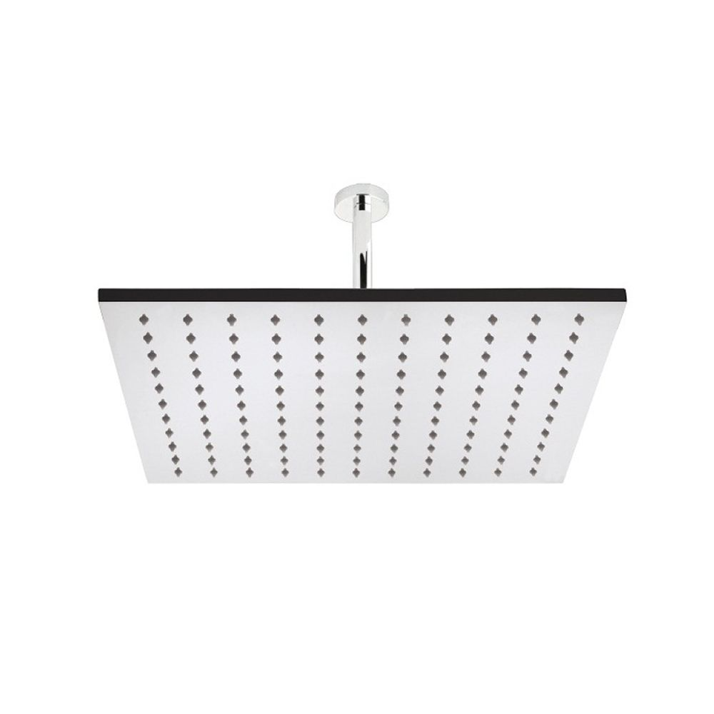 "One function 15"" Square Ceiling Mounted Shower Head Stainless Steel"