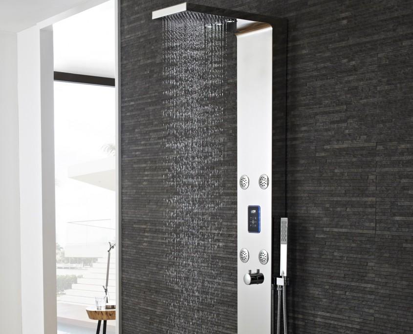 genie shower panel