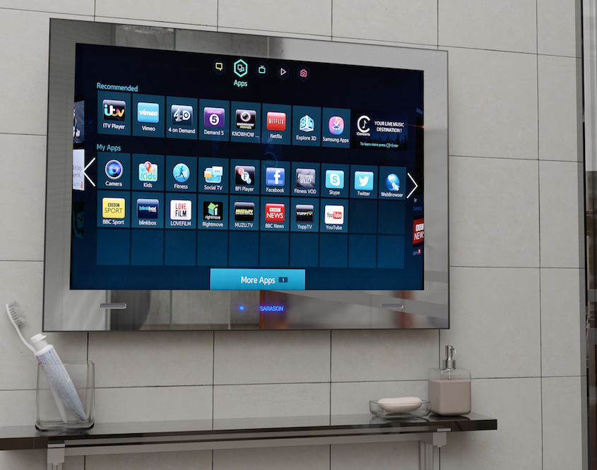 Bathroom Smart TV
