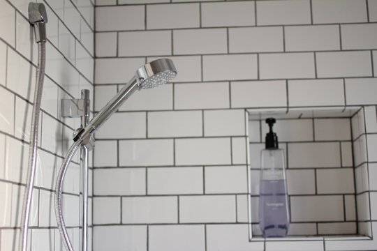 An image of a Recessed Shower Storage Shelf