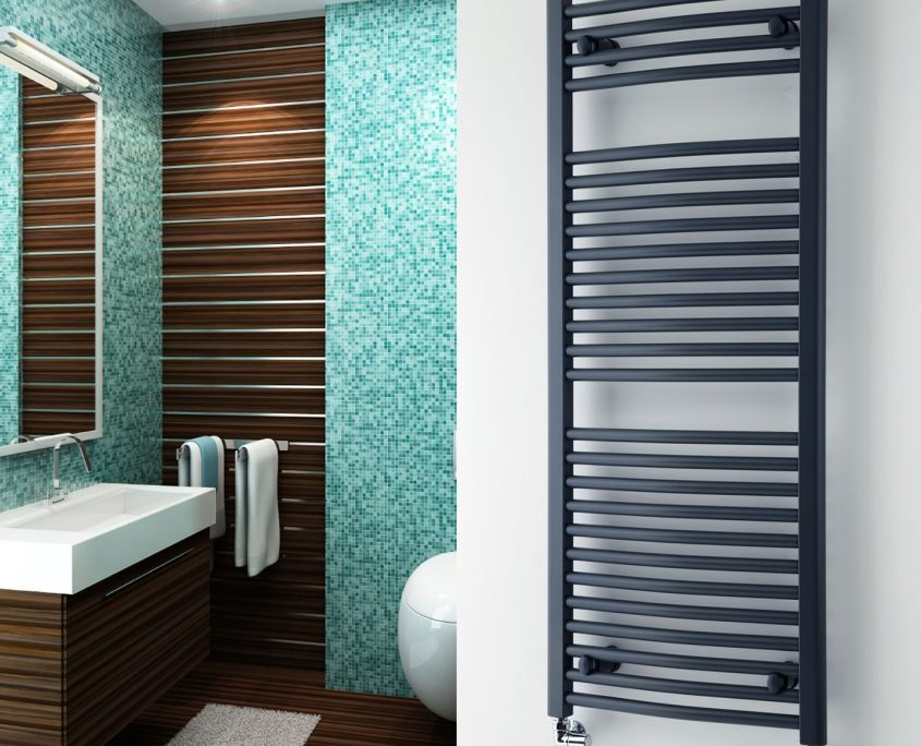 Why To Add A Hydronic Heated Towel Rack To Your Home