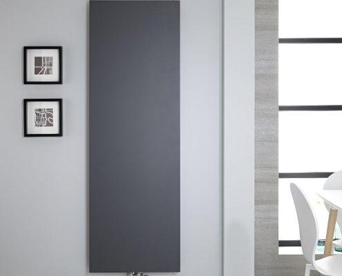 designer anthracite modern radiator