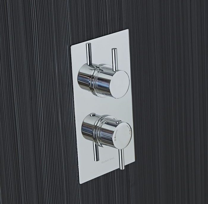 round concealed shower valves