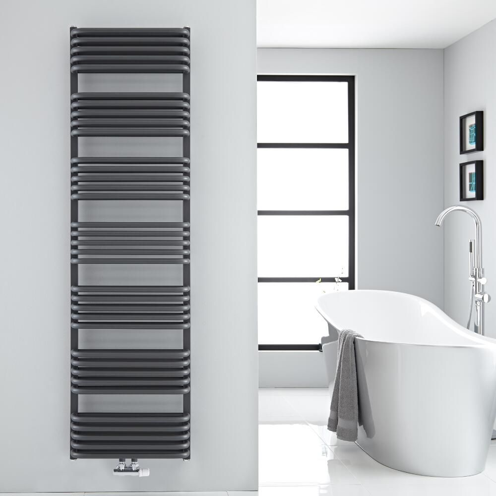 modern heated towel rack