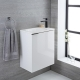 randwick white wall hung vanity unit