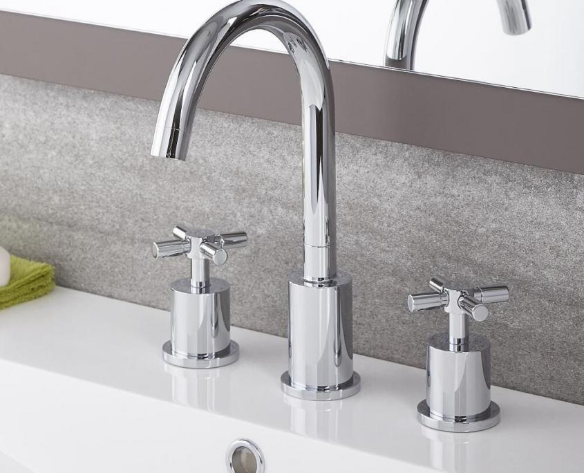 tec traditional widespread faucet