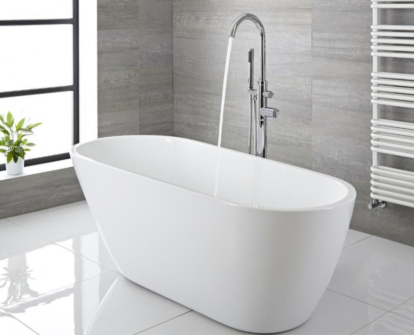 freestanding tub no feet