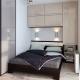 modern small bedroom