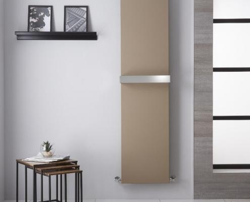 trevi mineral quartz vertical designer radiator