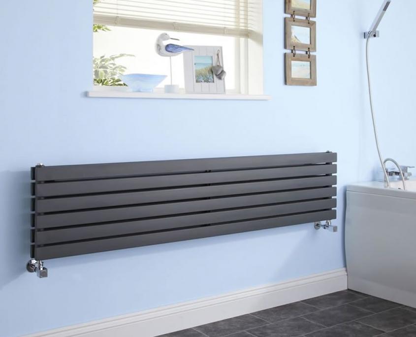 sloane anthracite horizontal radiator