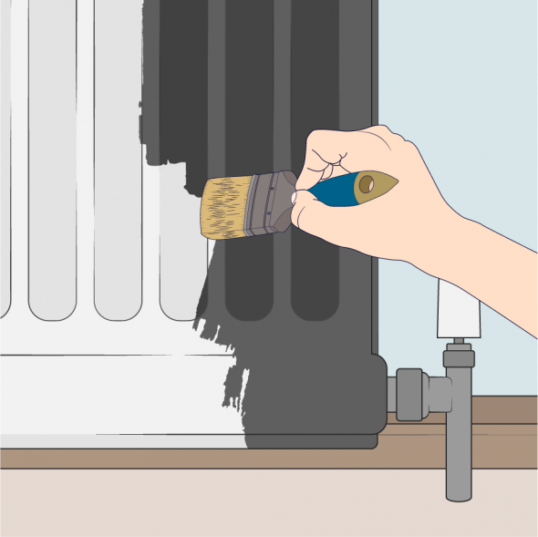 top coat radiator animated