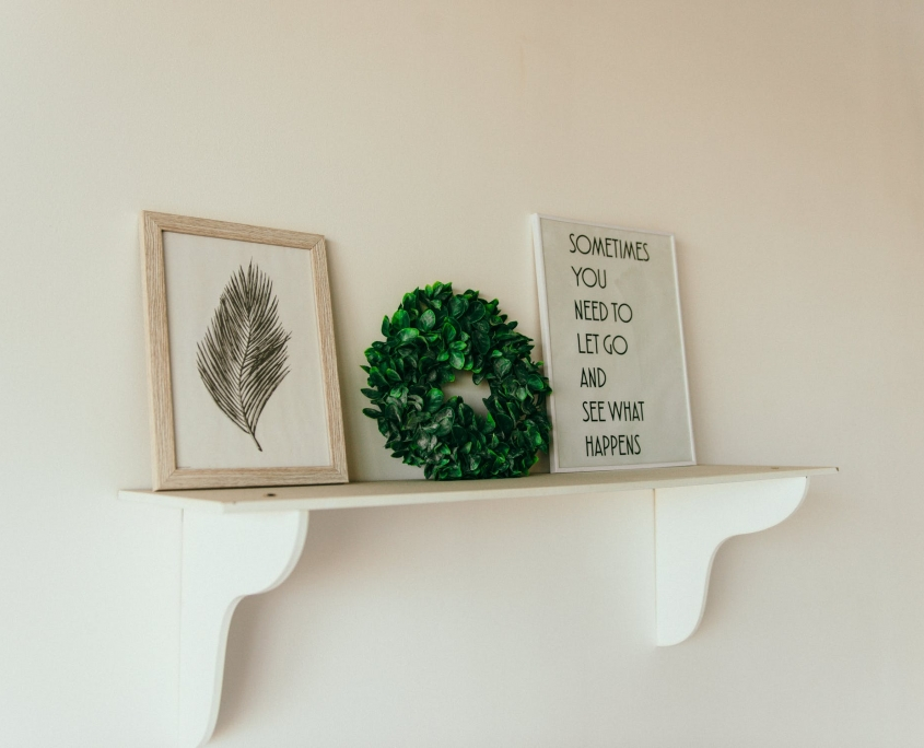home art shelving
