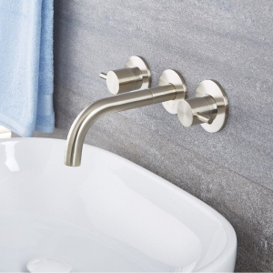 quest widespread wall mount faucet