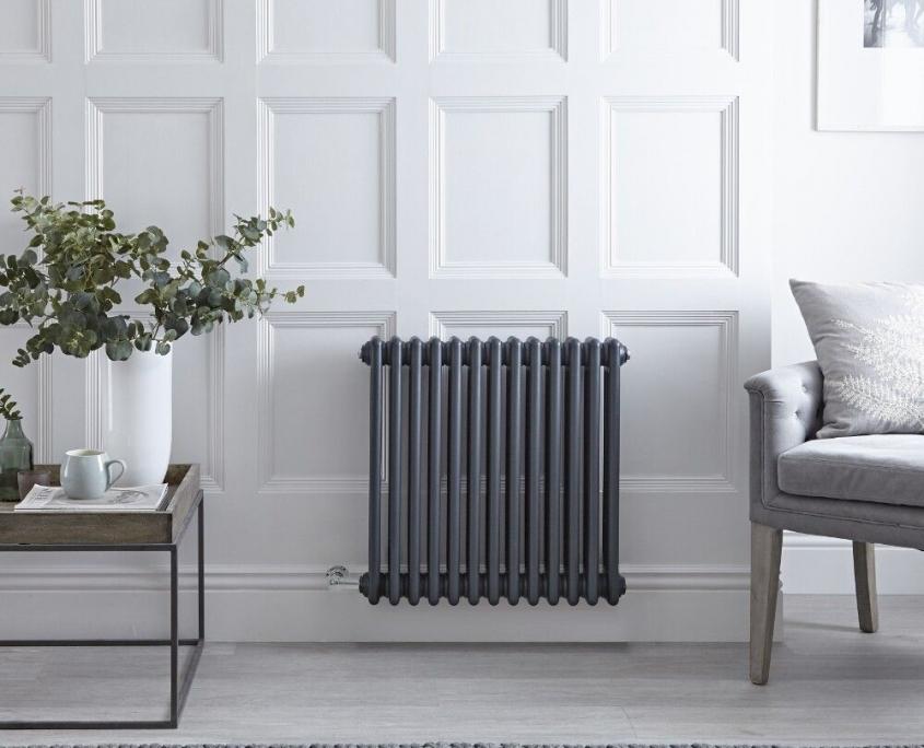 regent electric anthracite radiator