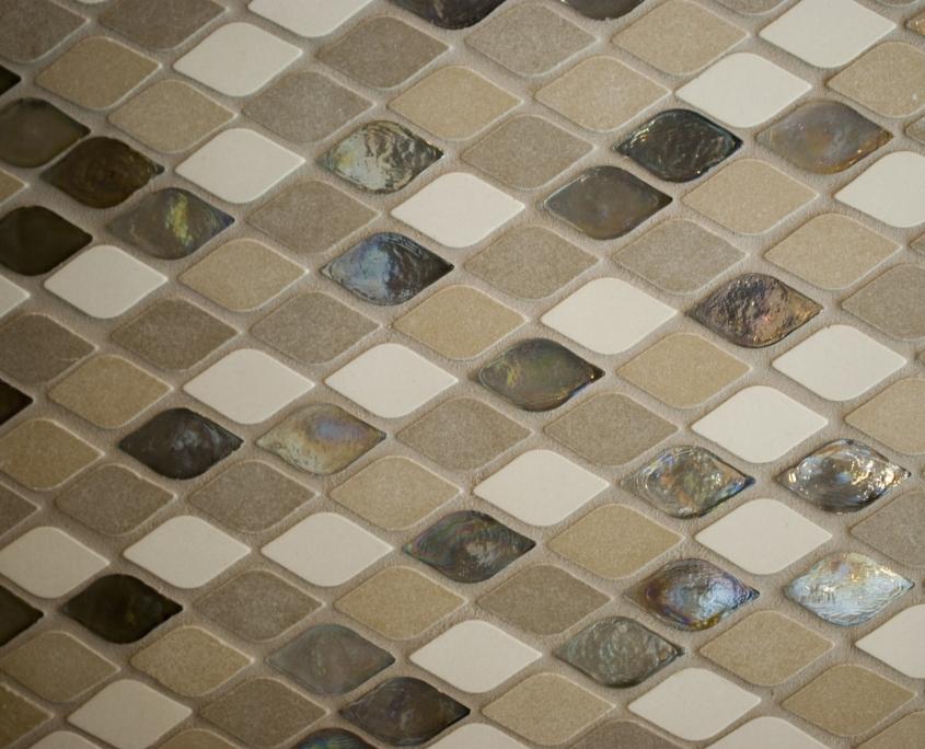 beige bathroom tiles