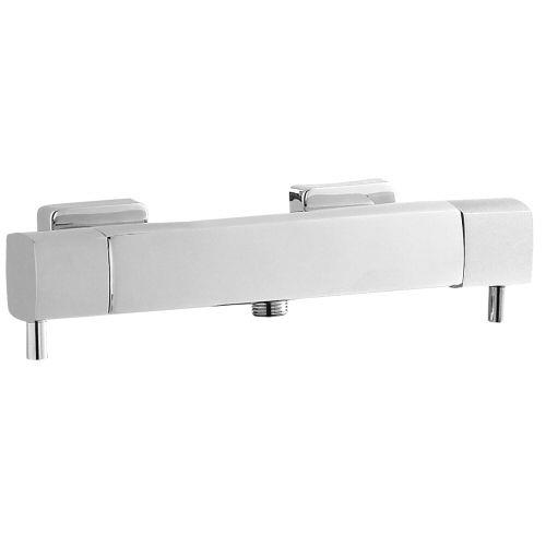 Quadro Thermostatic Bar Shower Valve (Bottom Outlet)