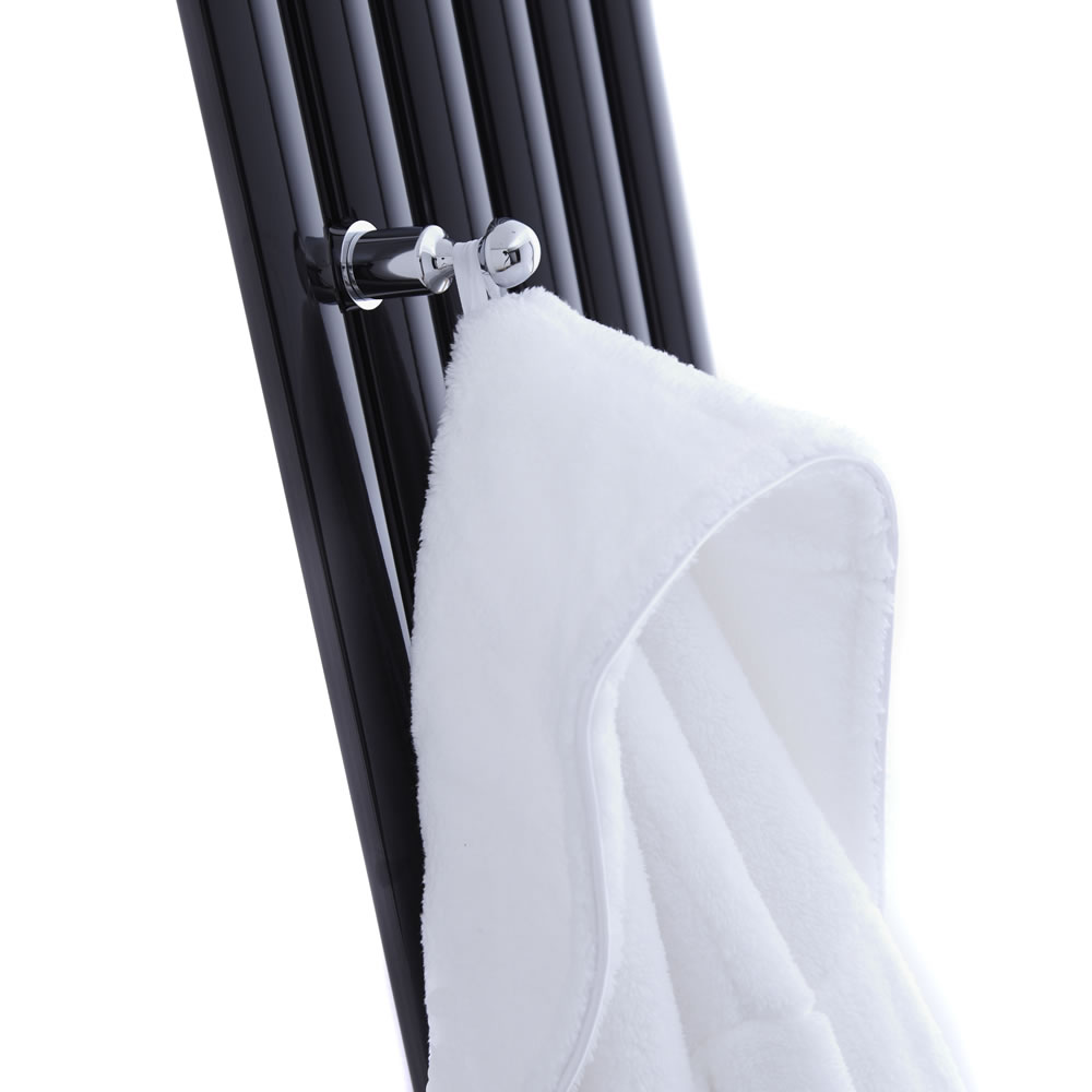 Hudson Reed - Chrome Robe Hook for Revive Vertical Designer Radiators