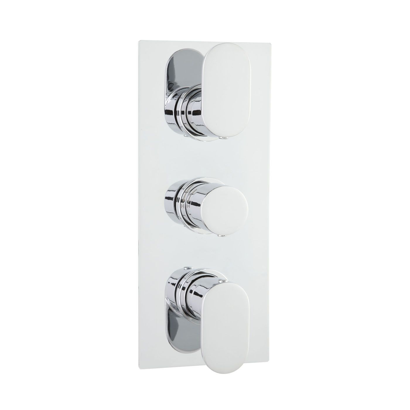 Ratio Concealed Thermostatic Triple Shower Valve with Diverter 3 Outlet Options