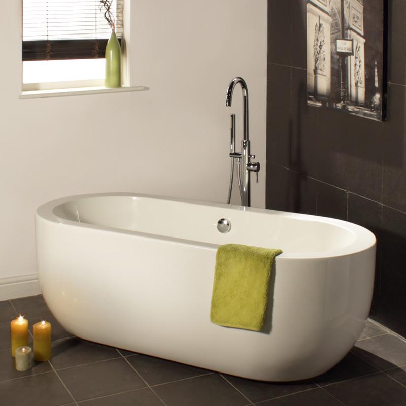 """Modern Acrylic Freestanding Bath Tub 70"""""""