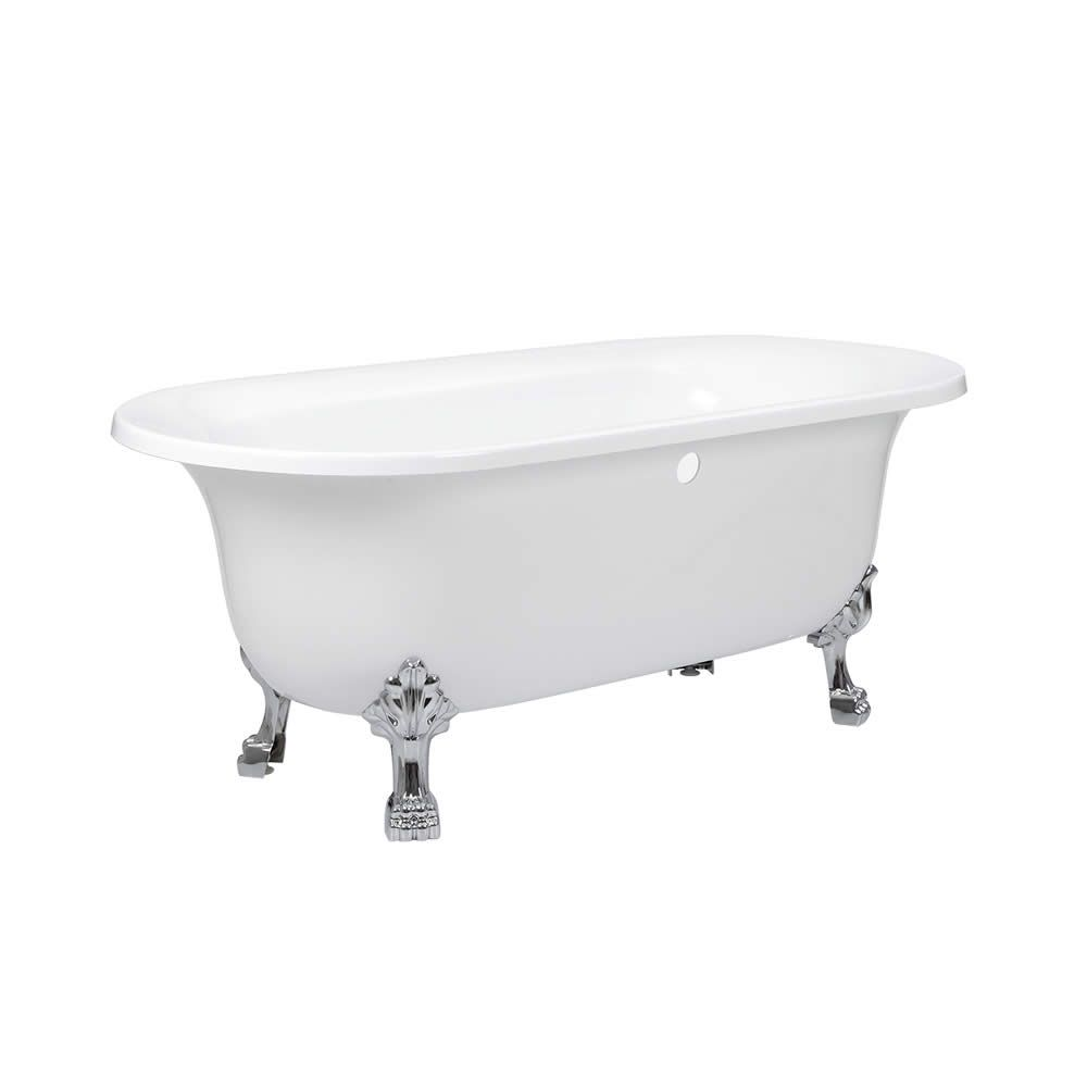 Acrylic Oval Shaped Free Standing Bath Tub with Choice of Feet 70\