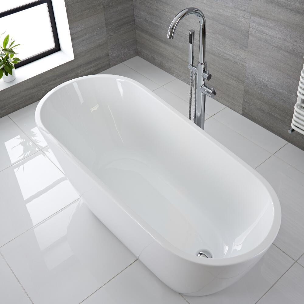 Modern Acrylic Freestanding Bath Tub 65\