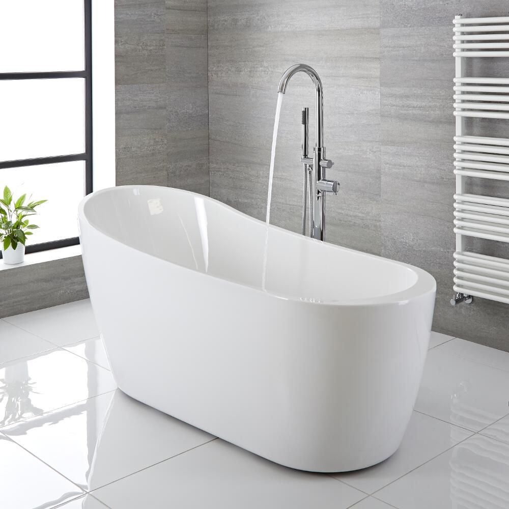 Modern Acrylic Freestanding Slipper Bath Tub 65\