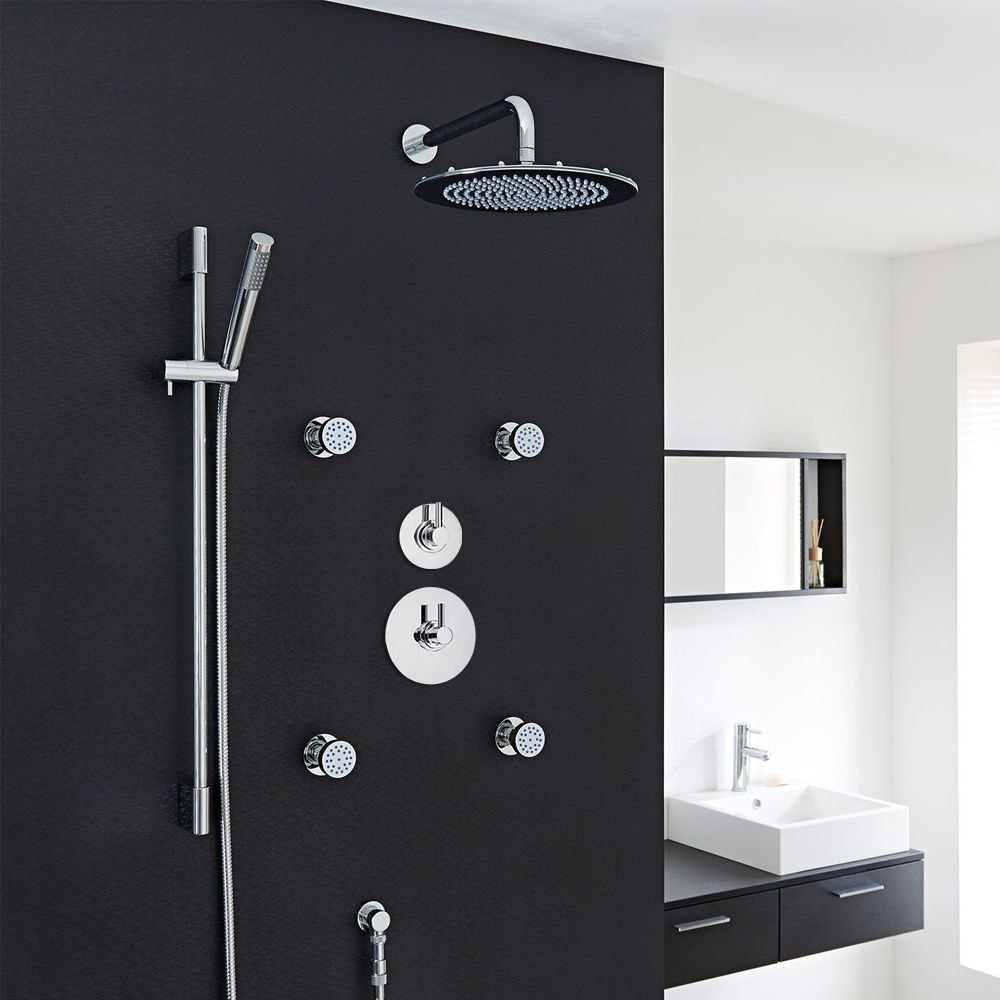 3-Outlet Shower System with 12\
