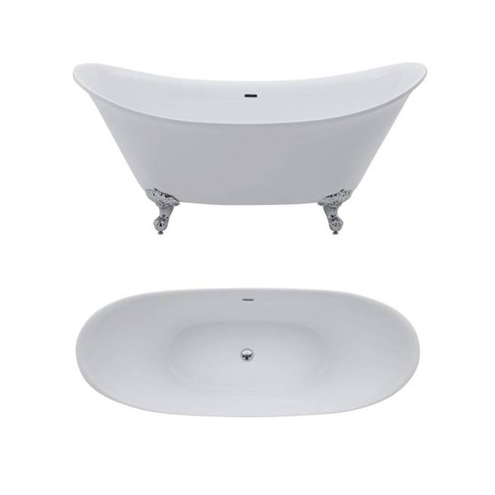 Acrylic Double Ended Freestanding Bath Tub 70 Quot