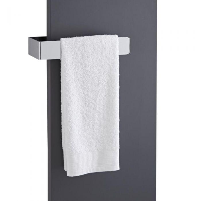 "Hudson Reed Wall Mounted Towel Rail - 12.5"" x 2.25"""