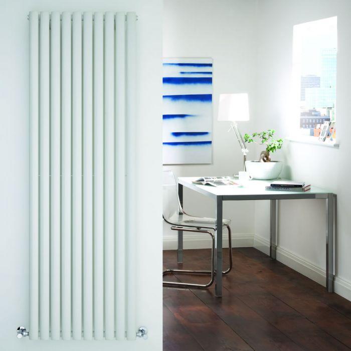 "Revive - White Vertical Single-Panel Designer Radiator - 70"" x 23.25"""