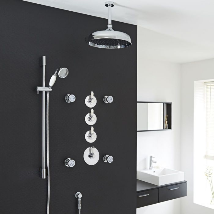 Traditional Shower System with 12\