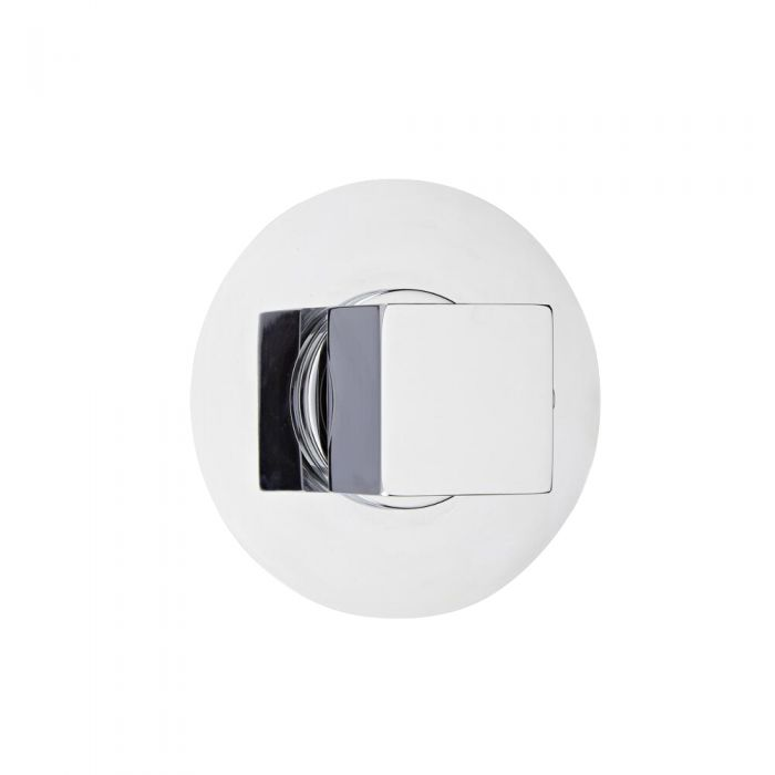 3-Way Diverter Shower Valve with Round Plate and Square Handle