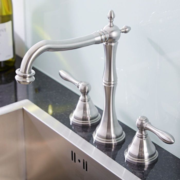 Widespread Faucet - Lever Handles