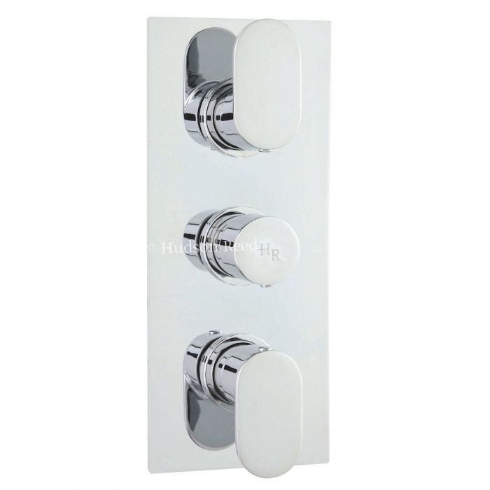 Cloud 9 Concealed Thermostatic Triple Shower Faucet Valve 2 Outlet Options