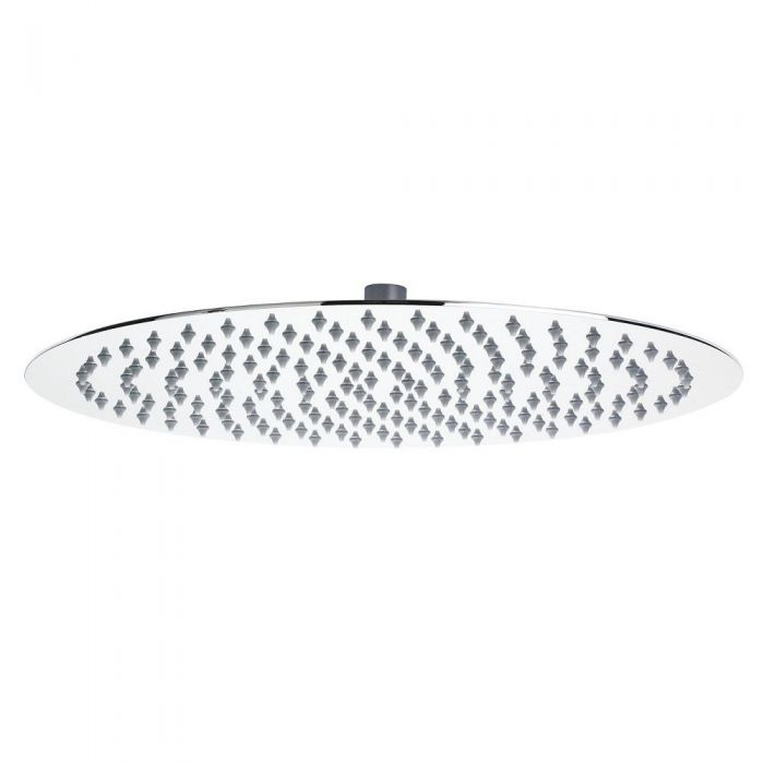 "15.75"" Round Polished Stainless Steel Shower Head"