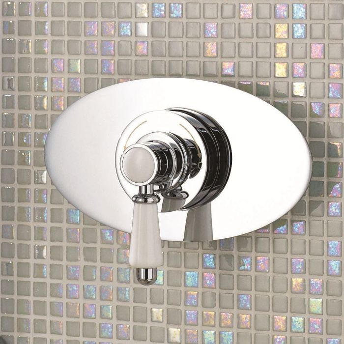 Traditional Concealed Sequential Thermostatic Shower Valve