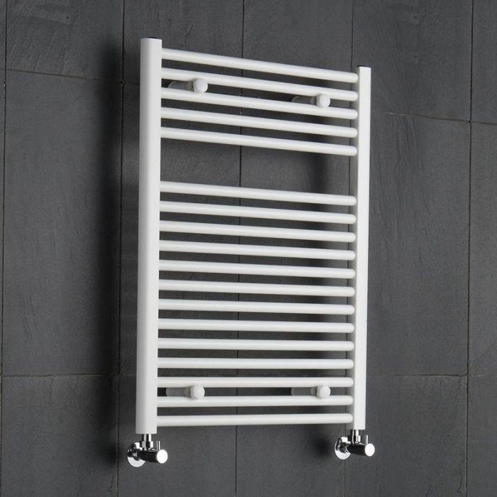 "Etna - Hydronic White Heated Towel Warmer - 31.5"" x 23.5"""