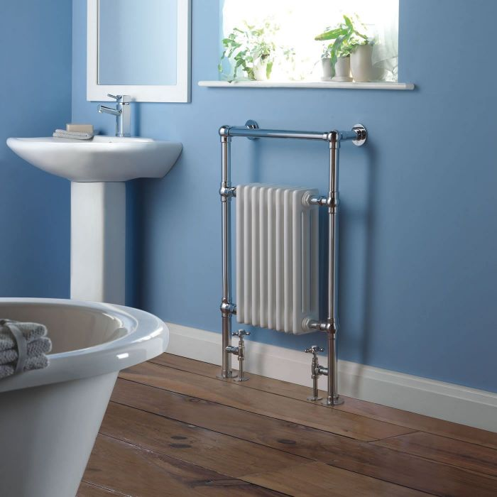 """Marquis Traditional Hydronic Heated Towel Warmer - 36.5"""" x 24.5"""""""