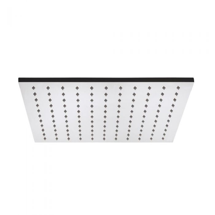 """15.75"""" Square Polished Stainless Steel Shower Head"""