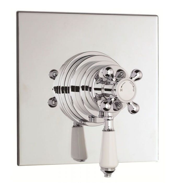Traditional Chrome Dual Control Thermostatic Shower Faucet