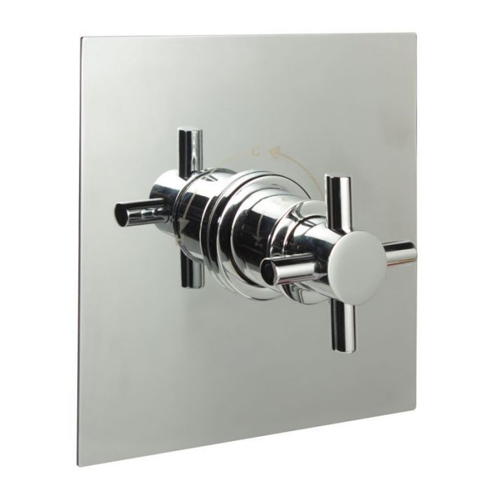 """1/2"""" Sequential Valve, Square Plate & Modern Crosshead Handle"""