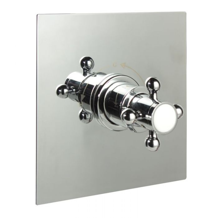 """1/2"""" Sequential Valve, Square Plate & Traditional Crosshead Handle"""