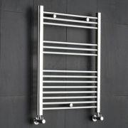 "Linosa - Hydronic Chrome Heated Towel Warmer - 31.5"" x 23.5"""