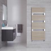 "Seina - Mineral Quartz Hydronic Designer Towel Warmer - 53.5"" x 21.75"""