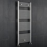 "Linosa - Hydronic Chrome Heated Towel Warmer - 47.25"" x 23.5"""
