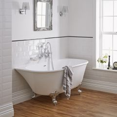 60 free standing tub. Acrylic Back To Wall Freestanding Bath Tub 60  Bathtub Collection Bathtubs Hudson Reed