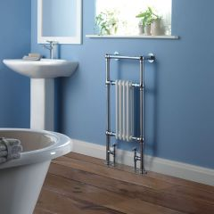 """Marquis - Traditional Hydronic Heated Towel Warmer - 36.5"""" x 19.5"""""""