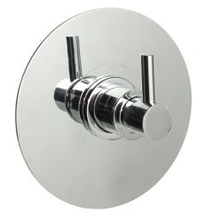 "1/2"" Sequential Valve, Round Plate & Modern Lever Handle"